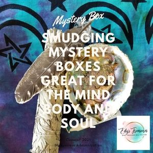 Smudging Box Great 4 The Mind Body & Soul